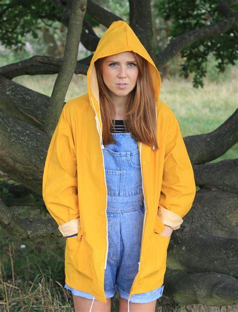 Yellow Raincoat Girl Meme - 1000 ideas about yellow raincoat on pinterest