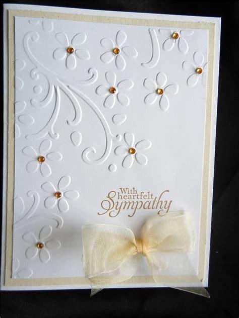 Handmade Sympathy Cards - handmade sympathy card using stin up with heartfelt