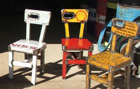 Recycle Furniture by K W Upcycling As A Creative Idea For Rubbish
