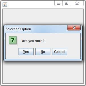 java swing drop down button java joptionpane showconfirmdialog programiz org