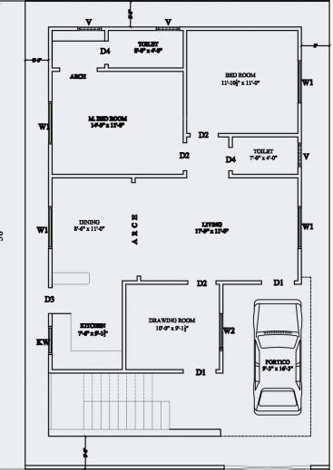 floor plans for indian homes inspiring 20 x 60 house plan design india arts for sq ft