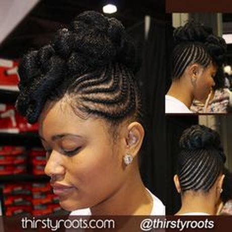 Braid Updo Hairstyles For Black Hair by Updo Braided Hairstyles For Black