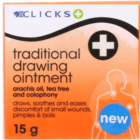 Drawing 8 Trek Ointment by Clicks Traditional Drawing Ointment 15g Clicks