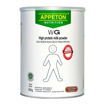 Appeton Weight Gain Di Lazada by Appeton Weight Gain 900 Gr Lazada Indonesia