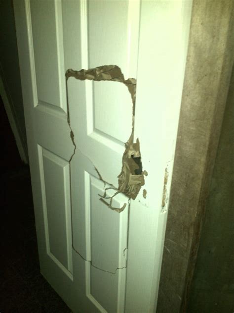 how can i fix a in a hollow wooden door home