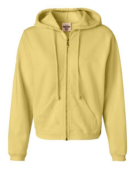 comfort sweatshirts comfort colors ladies pigment dyed full zip hooded