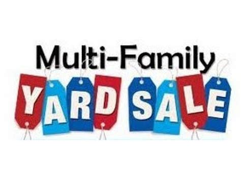 Garage Sales by Large Multi Family Yard Sale Saturday September 19th