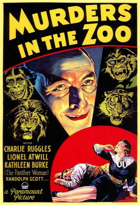 the murders in the murders in the zoo movie posters from movie poster shop