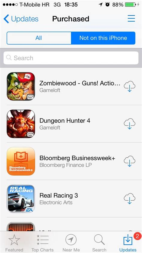 Search App App Store For Finally Lets You Sort Purchased Apps Alphabetically