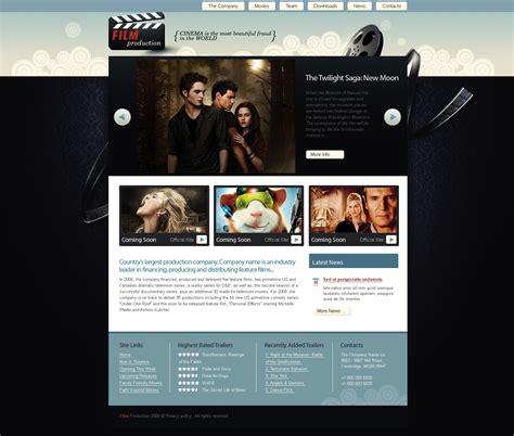 templates for movie website movie website template 25353