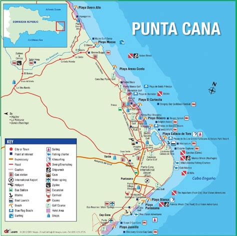 map of punta cana map of punta cana 187 travel