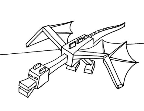 minecraft end coloring pages http colorings co minecraft coloring pages ender dragon