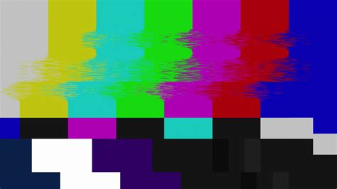 smpte color bars smpte color bars glitch clean glitched transmission