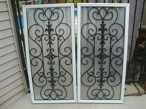 Wrought Iron Cabinet Door Inserts Stained Glass Door Inserts And Wrought Iron Door Inserts