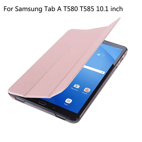Samsung Galaxy Tab Original original for samsung galaxy tab a a6 10 1 2016 t585 t580 sm t580 t580n smart cover pu