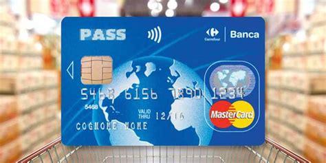 carta di credito carrefour carta revolving pass carrefour casasuper