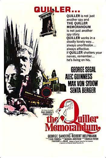 quills movie soundtrack quiller memorandum the soundtrack details