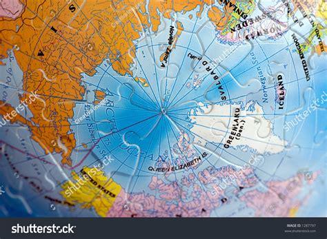 north pole map stock photo  shutterstock