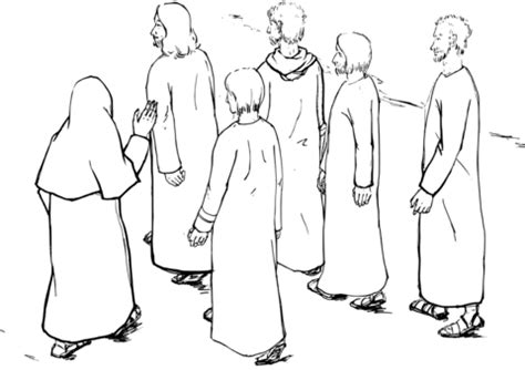 coloring page jesus is the way jesus leading the way to jerusalem coloring page free