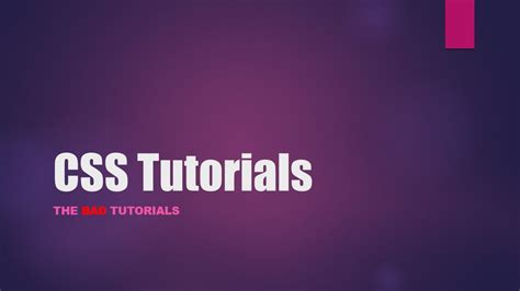 css tutorial on youtube css tutorial 34 navigation bar youtube