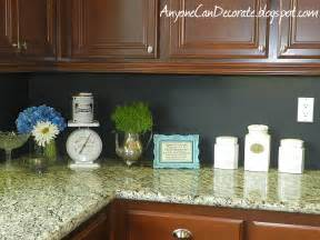 Painted Kitchen Backsplash by Hometalk My 10 Kitchen Chalkboard Backsplash