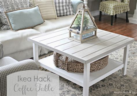Coffee Table Hack Golden Boys And Me Coffee Table Ikea Hack