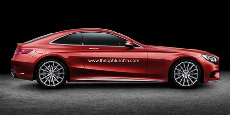 mercedes two seater coupe rendering looks striking