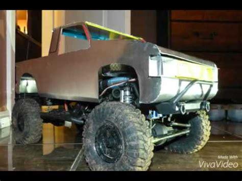 homemade truck body homemade rc body nissan hardbody crawler pickup tr