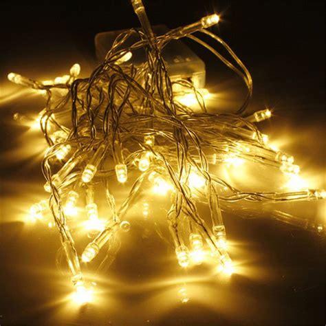 hot sell aa battery 10 20 30 40 leds warm white christmas