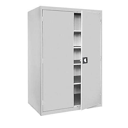 sandusky 72 steel storage cabinet sandusky jumbo steel storage cabinet 72 h x 46 w x 24 d