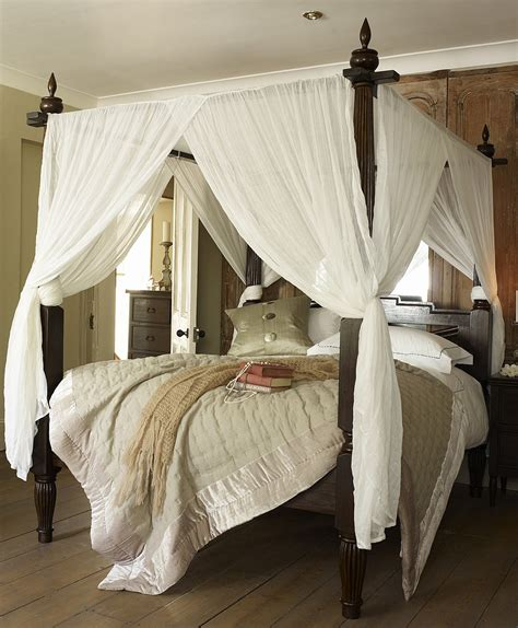himmelbett gardinen bed canopy design ideas ward log homes