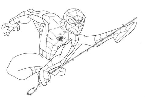 marvel coloring pages spiderman marvel the spectacular spider man coloring pages many