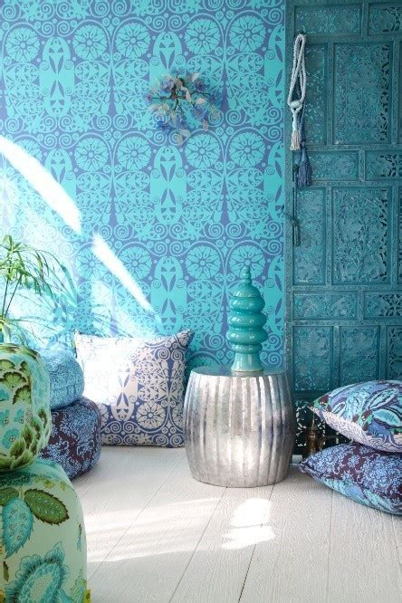 decorating with aqua decorating with turquoise teal and purple style estate