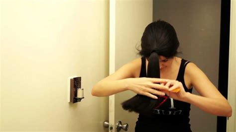 como cortar el pelo en capas yo misma como cortarse el pelo en casa corte en capas cabello