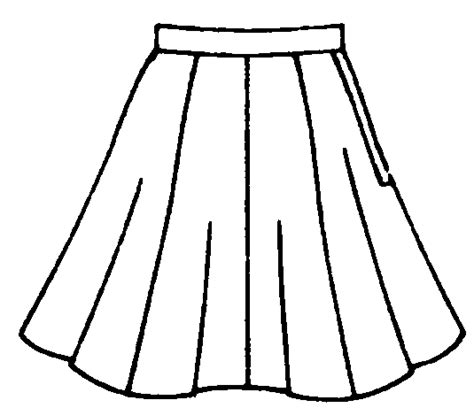 Skirt Clipart Black And White skirt clipart free clip free clip