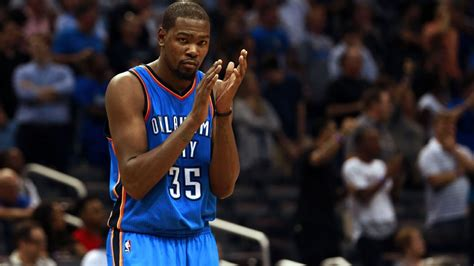 kevin durant of oklahoma city thunder out vs sacramento