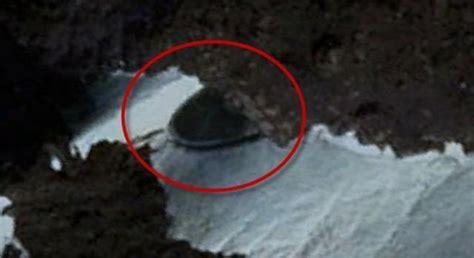 film con enigmi e misteri google earth scoperta nave aliena tra i ghiacci dell
