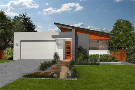 home desine skillion roof house designs australia home design and style