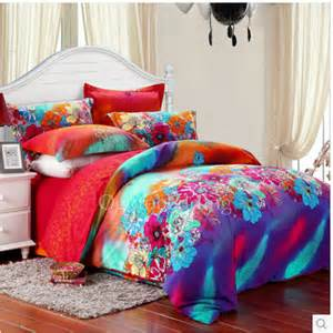 Teenage Bedding Luxury Modern Floral Teal Queen Size Teen Bedding Sets