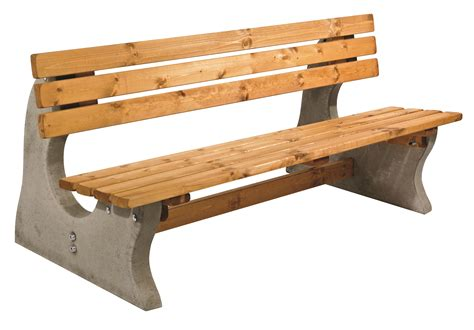 concrete benches concrete park bench simply wood