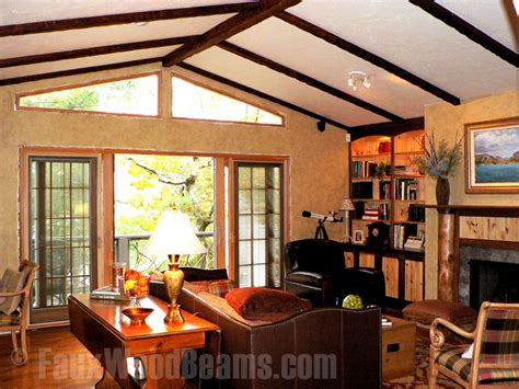 great room designs beautiful interior spaces  faux wood