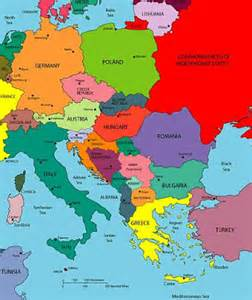 Croatia Map Europe by Relative To Crnkovich January 2011