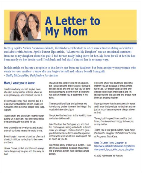 a mothers letter who gave the order to kill my children sle thank you letter to mom 5 exles in word pdf