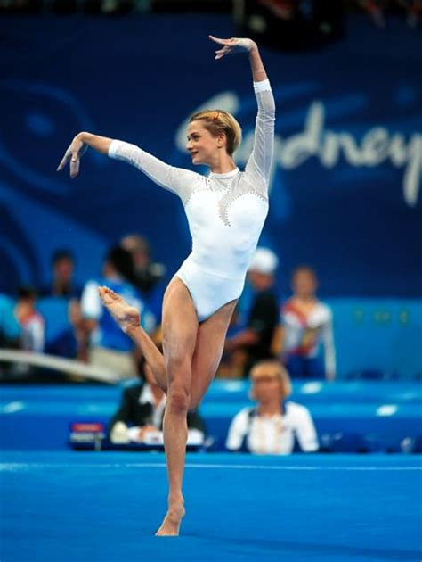 Amazing Floor Routine Gymnastics by 4 Facts About Gymnast Svetlana Khorkina