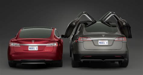 are those falcon doors holding up the tesla model x