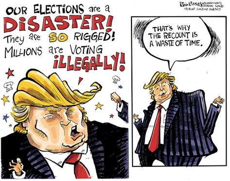 Editorial Cartoons On The 2016 Presidential Elections