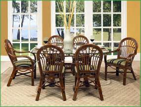 Wicker Dining Room Chairs Indoor Rattan Dining Room Furniture Wicker Rattan Dining Room