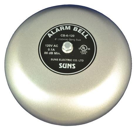 Alarm Bell Suns Cb 6 120 Gray 120v Alarm Bell 6 Inch 120 Volt Ac 6 Quot In 120 Vac Ebay