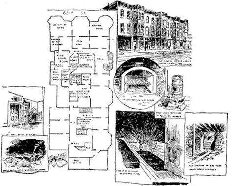 hidden passageways floor plan 13 houses with secret passageways mental floss