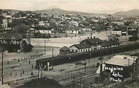 nogales az birds eye view showing depot abt 1920s